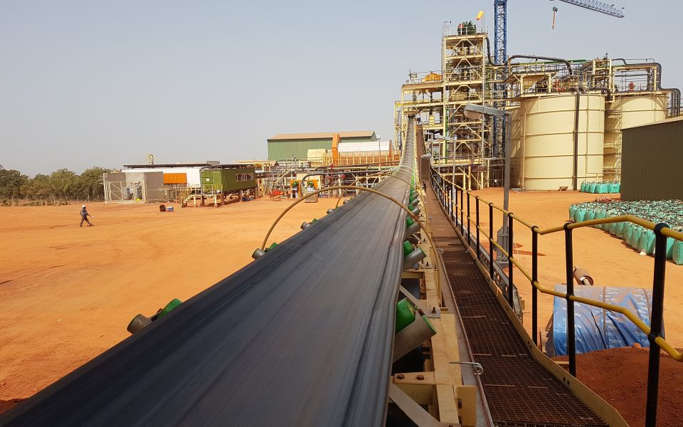 The Hummingbird Resources (AIM:HBR) gold production facility at its Yanfolila mine in Mali, West Africa