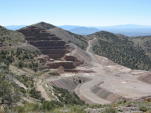 McEwan Mining's Gold Bar mine Nevada, USA