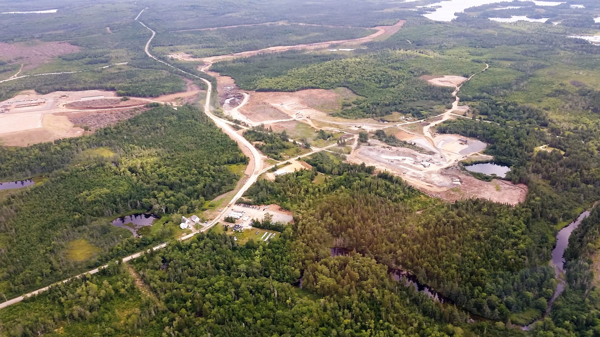 Overview of Atlantic Gold's Moose River project