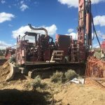 Drilling in the Central zone of NuLegacy's deposits