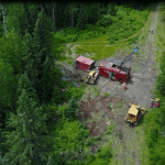Drilling for gold at the Great Bear (TSXV: GBR) Red Lake Deposit, Ontario