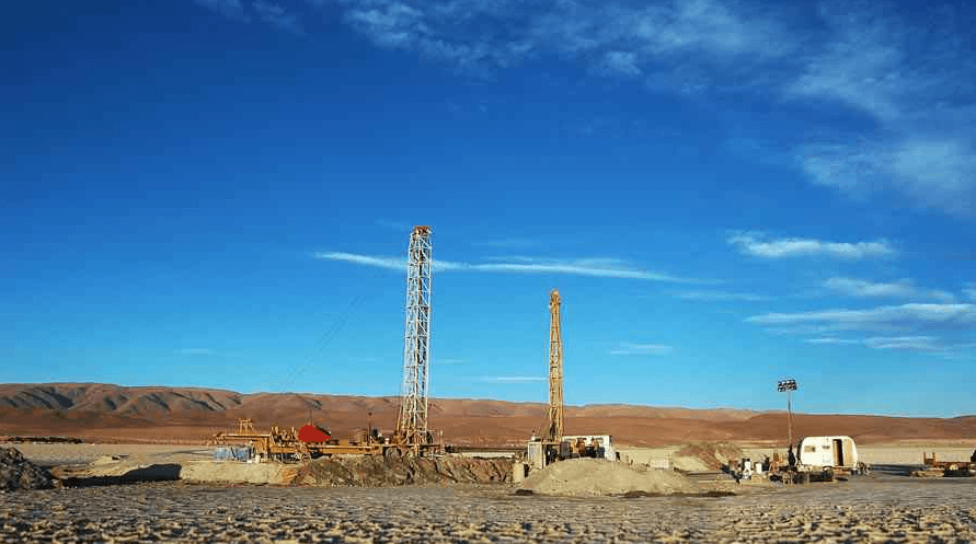 Drilling at the Millennial Lithium (TSXV:ML) Pastos Grande Deposit