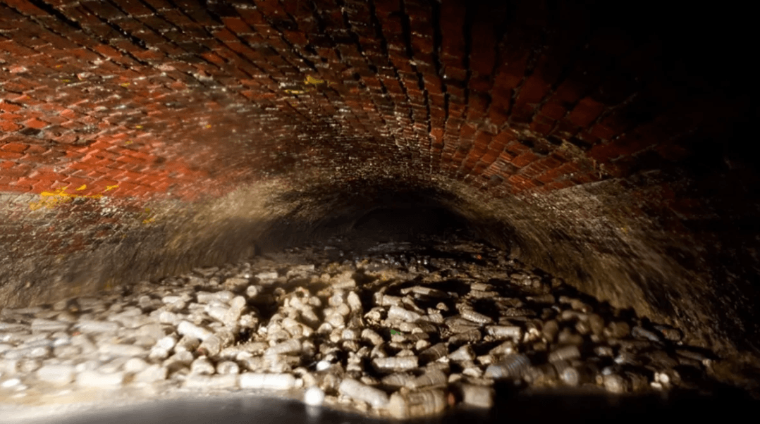 New York's historic sewers could produce some US$100 million of metals per year.