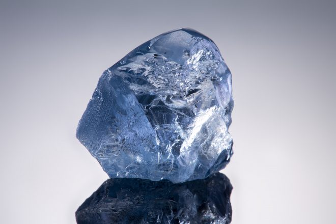 Petra Diamonds, blue diamond from Cullinan Mine, South Africa