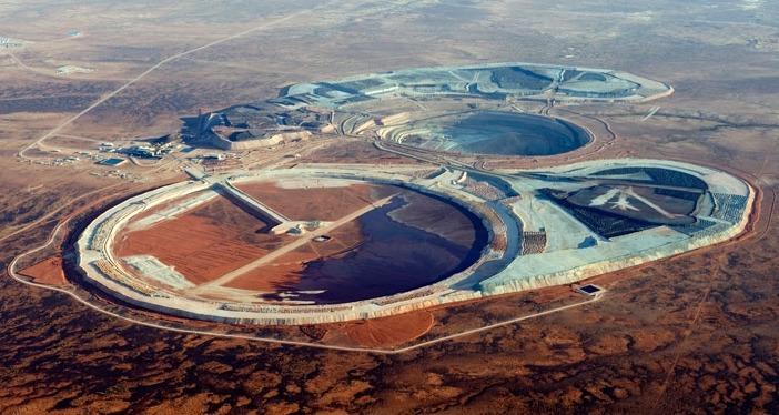 Prominent Hill copper-gold mine in South Australia