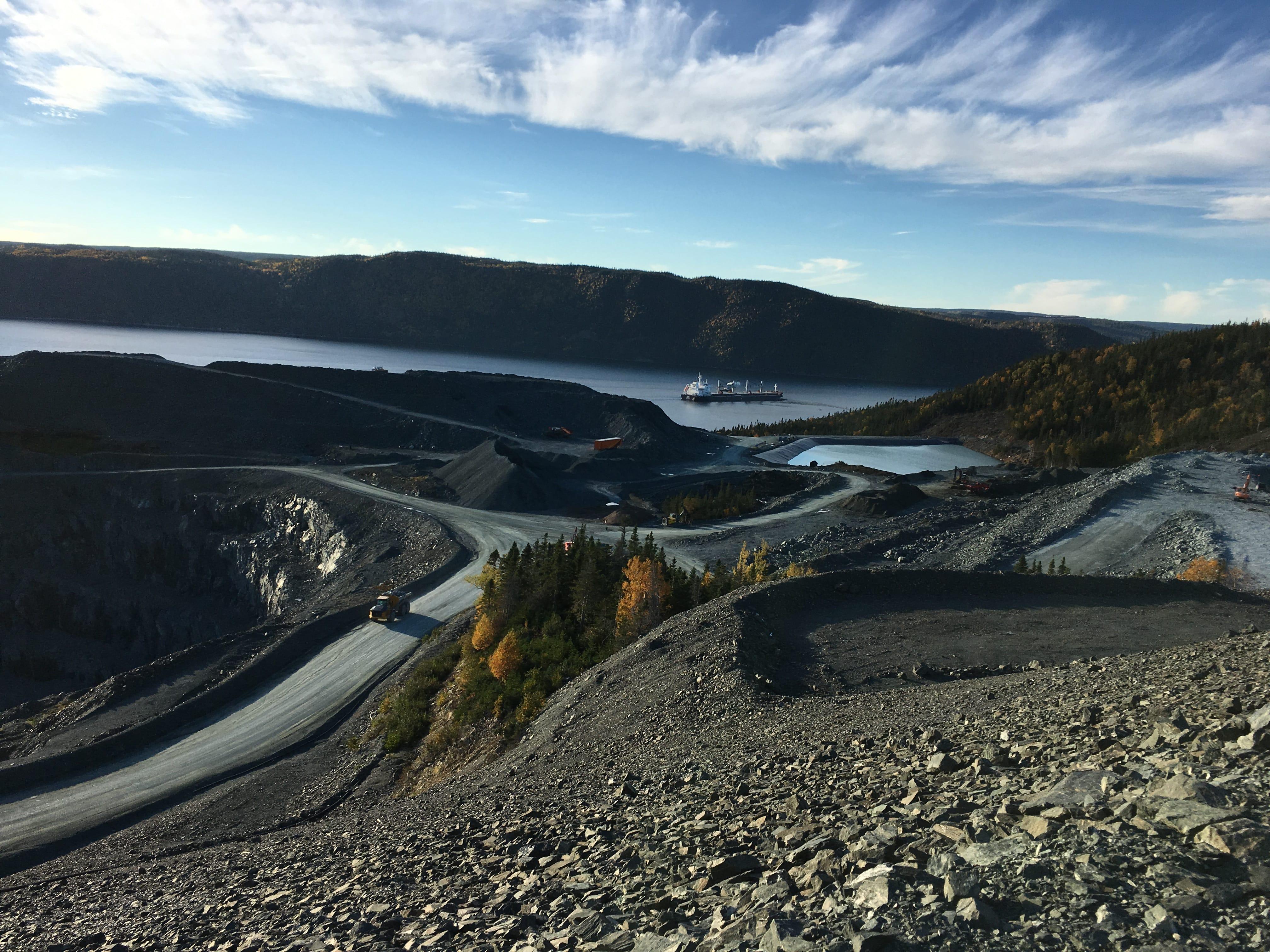 Anaconda's Gold Mining (TSX:ANX) Baie Verte Deposit in Newfoundland, Canada