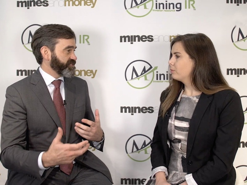 Thomas Ullrich, CEO of Aston Bay at Mines and Money London