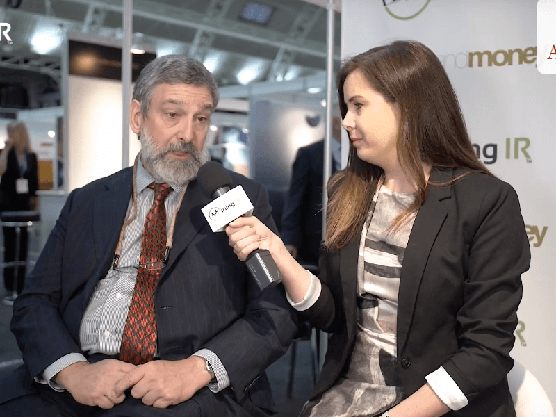 Keith Barron CEO Aurania Resources at Mines and Money London November 2018
