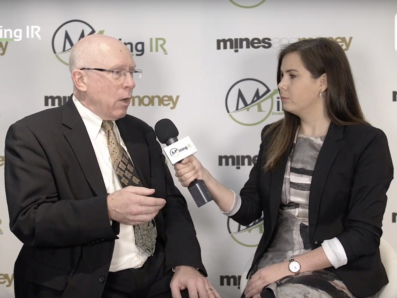 Paul Kuhn, CEO of Avrupa Minerals, at Mines and Money London