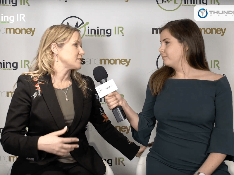 Bryce Bradley of Thunderstruck Resources interviewed at Mines and Money London 2018