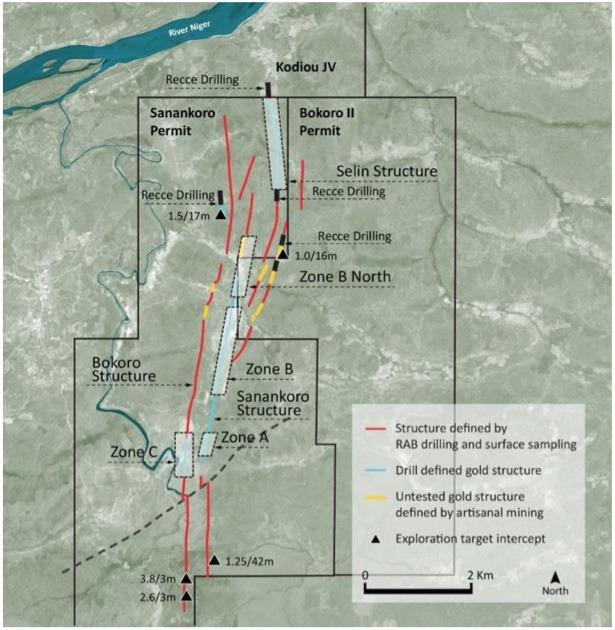 Cora Gold drilling in Mali