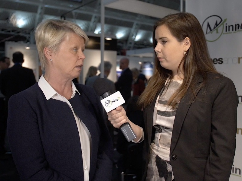 Saila Miettinen-Lähde, CEO of Endomines OY at Mines and Money London.