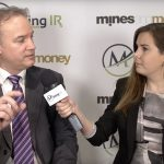 Mike Sieb, President of Explorex Resources, at Mines and Money London