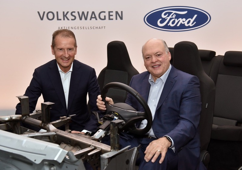 VW and Ford alliance