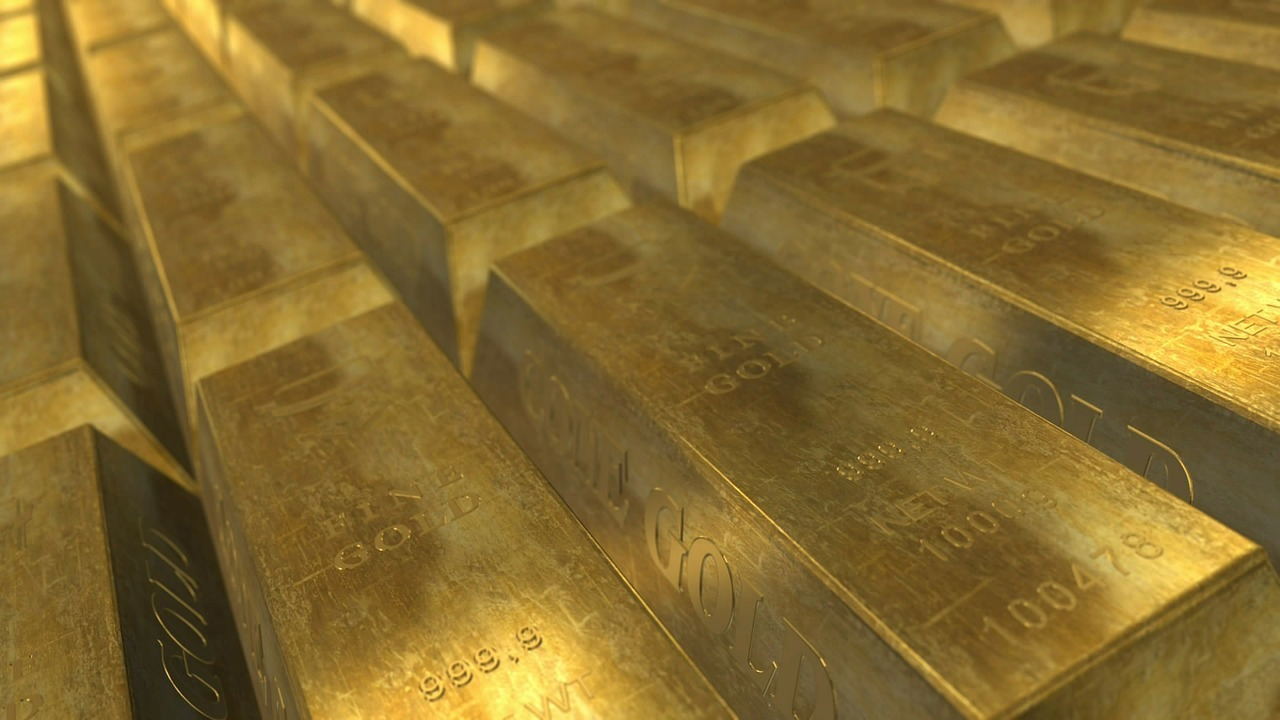 Gold bars - gold market