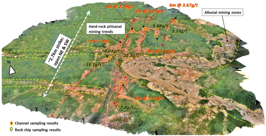 IronRidge resources - Côte d'Ivoire project