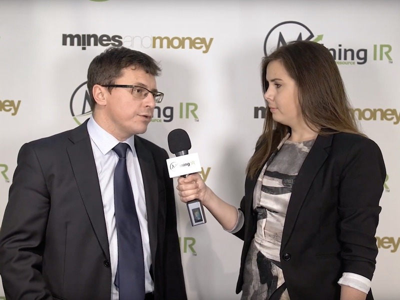 Mikhail Damrin, CEO of Kopy Goldfields, interviewed at Mines and Money London by MiningIR