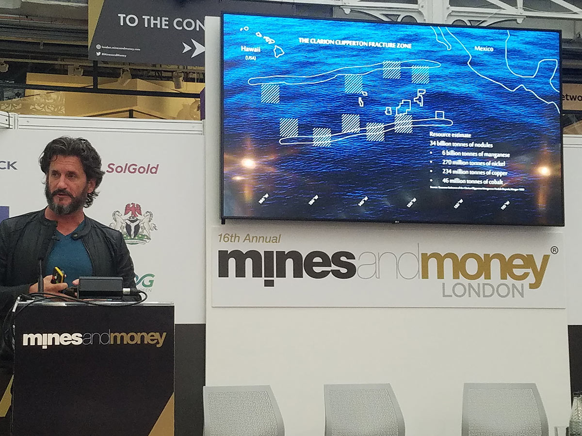 DeepGreen Metals at Mines and Money London