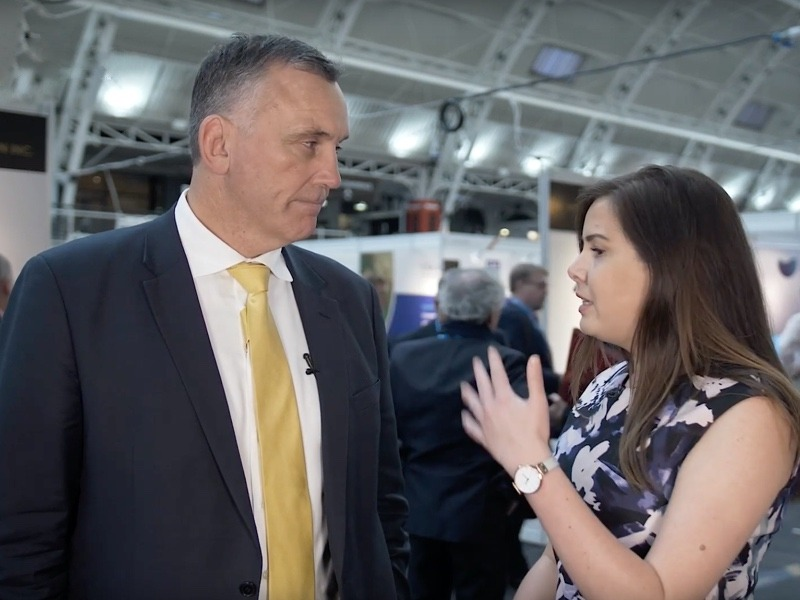 John Welborn CEO and MD, Resolute Mining, being interviewed at Mines and Money London by MiningIR