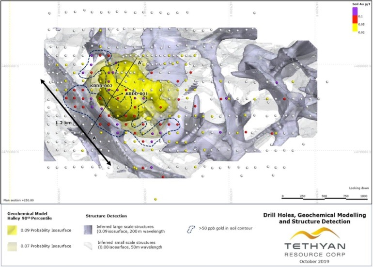 Porphyry Target and Structures at Kremice Interpreted from Geochemical and Ground Magnetics Data by Fathom Geophysic