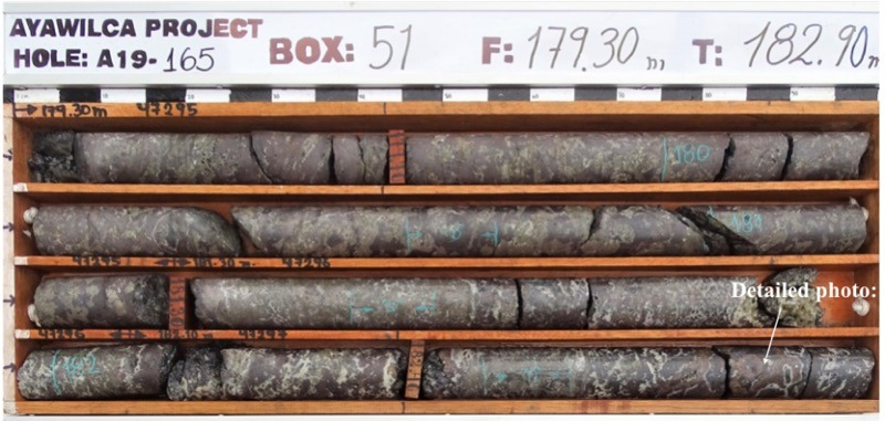 Tinka Resources core samples