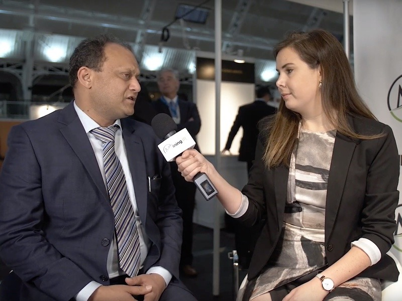 Shishir Poddar, Chairman and MD of Tirupati Graphite, being interviewed at Mines and Money London by MiningIR