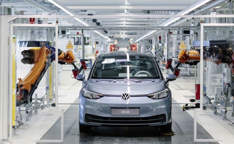 Volkswagen ID.3 begins production in Germany