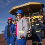 Women's Month in Africa celebrates the increasing and necessary contribution women provide to the mining industry (Image miningreview.com)